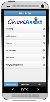 ChoreAssist - Book an Assistant to perform any chore or task
